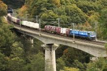 鉄道写真にチャレンジ!-EH200形貨物列車