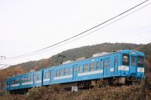 鉄道写真にチャレンジ!-119系 青の飯田線色