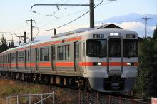 鉄道写真にチャレンジ!-朝の313系