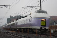 鉄道写真にチャレンジ!-特急スーパーあずさ(小淵沢~韮崎)