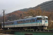 鉄道写真にチャレンジ!-115系信州色右向き