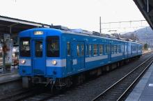 鉄道写真にチャレンジ!-119系E4編成 辰野駅