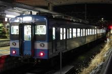 鉄道写真にチャレンジ!-119系E4編成 岡谷駅