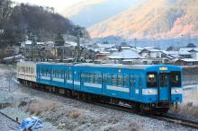 鉄道写真にチャレンジ!-飯田線119系E4+M5編成