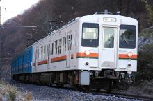 鉄道写真にチャレンジ!-飯田線119系M5+E4編成