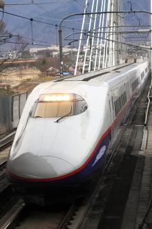 鉄道写真にチャレンジ!-長野新幹線「あさま」