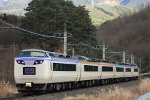鉄道写真にチャレンジ!-篠ノ井線 快速いろどり信濃路