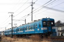 鉄道写真にチャレンジ!-飯田線235M、119系E4編成、伊那松島~木下