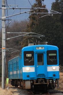 鉄道写真にチャレンジ!-飯田線554M、119系E4編成、羽場~伊那新町
