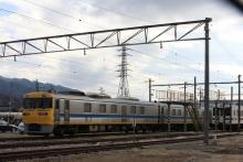 鉄道写真にチャレンジ!-飯田線 試9485D キヤ95系 DR2編成