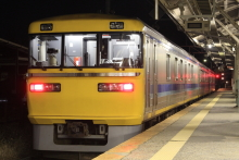 鉄道写真にチャレンジ!-飯田線 試9482D キヤ95系 DR2編成
