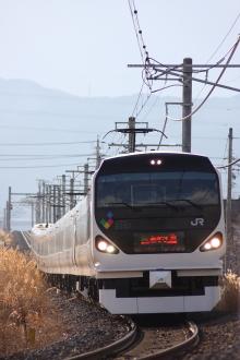 鉄道写真にチャレンジ!-中央本線 70M 特急あずさ20号