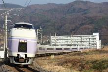 鉄道写真にチャレンジ!-中央本線 15M 特急スーパーあずさ15号