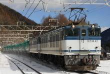 鉄道写真にチャレンジ!-中央西線 EF6447+EF6474