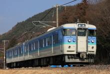 鉄道写真にチャレンジ!-115系 信州色 N51 中央本線辰野支線