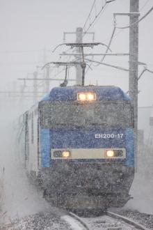 鉄道写真にチャレンジ!-中央本線 EH200形 電気機関車