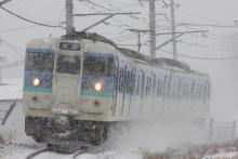 鉄道写真にチャレンジ!-中央本線 115系 信州色