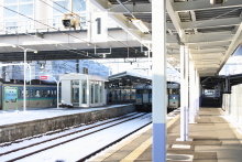 鉄道写真にチャレンジ!-中央本線 115系だらけの岡谷駅