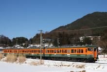 鉄道写真にチャレンジ!-115系 N15 訓練車