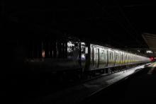 鉄道写真にチャレンジ!-配給輸送 EF64-1030 + E231系10両