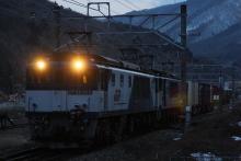 鉄道写真にチャレンジ!-中央西線 81レ EF64-1013+EF64-1014