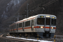 鉄道写真にチャレンジ!-中央西線 313系 B313