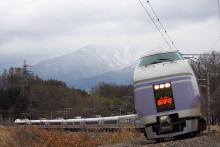 鉄道写真にチャレンジ!-中央本線 E351系 特急スーパーあずさ