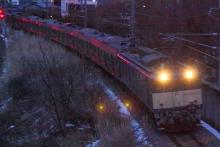 鉄道写真にチャレンジ!-配給輸送 205系ケヨ⑥ 中央本線 配9457レ
