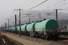 鉄道写真にチャレンジ!-中央西線 3084レ EF64-1028 EF54-1005