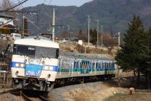 鉄道写真にチャレンジ!-飯田線 117系 駒ヶ根トレイン117