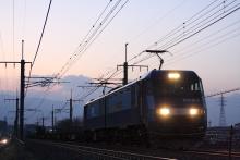 鉄道写真にチャレンジ!-EH200-3 + コキ⑪ 中央本線