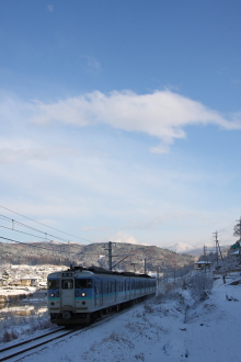 鉄道写真にチャレンジ!-115系 中央本線 川岸~岡谷