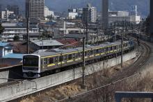 鉄道写真にチャレンジ!-配給輸送 房総線用209系2100番台マリC438