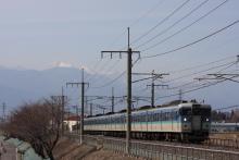 鉄道写真にチャレンジ!-中央本線 442M 115系 C13編成