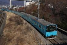 鉄道写真にチャレンジ!-廃車回送 京葉線201系K53+K3編成