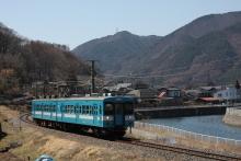 鉄道写真にチャレンジ!-飯田線119系E4編成リバイバル国鉄色