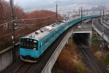 鉄道写真にチャレンジ!-中央本線 回9573M? 京葉線201系 ケヨ52+K2⑩