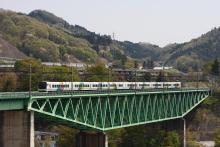鉄道写真にチャレンジ!-中央本線 3001M 特急かいじ101号