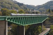 鉄道写真にチャレンジ!-中央本線 6M E351系 特急スーパーあずさ6号