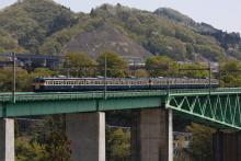 鉄道写真にチャレンジ!-中央本線 1458M 115系 スカ色