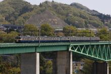 鉄道写真にチャレンジ!-中央本線 536M 115系 スカ色