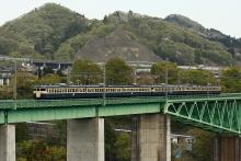 鉄道写真にチャレンジ!-中央本線 537M 115系 スカ色