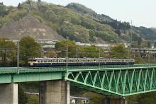 鉄道写真にチャレンジ!-中央本線 542M 115系 スカ色