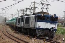 鉄道写真にチャレンジ!-中央西線 3084レ EF64-1043 + EF64-1047 + タキ⑭