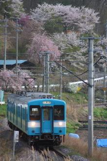 鉄道写真にチャレンジ!-JR東海 119系 E4(リバイバル国鉄色)
