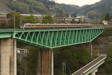 鉄道写真にチャレンジ!-中央本線 1568M E233系 鳥沢~猿橋