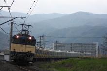 鉄道写真にチャレンジ!-配9233レ EF64-1030 + E231系6扉車