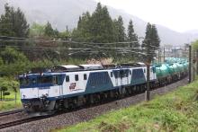 鉄道写真にチャレンジ!-中央西線 3048レ EF64-1018 + EF64-1023 + タキ