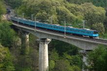 鉄道写真にチャレンジ!-中央本線 回9573M 201系 ケヨ51+K1⑩