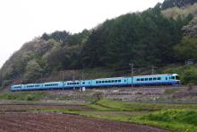 鉄道写真にチャレンジ!-中央本線 485系 G1 ニューなのはな